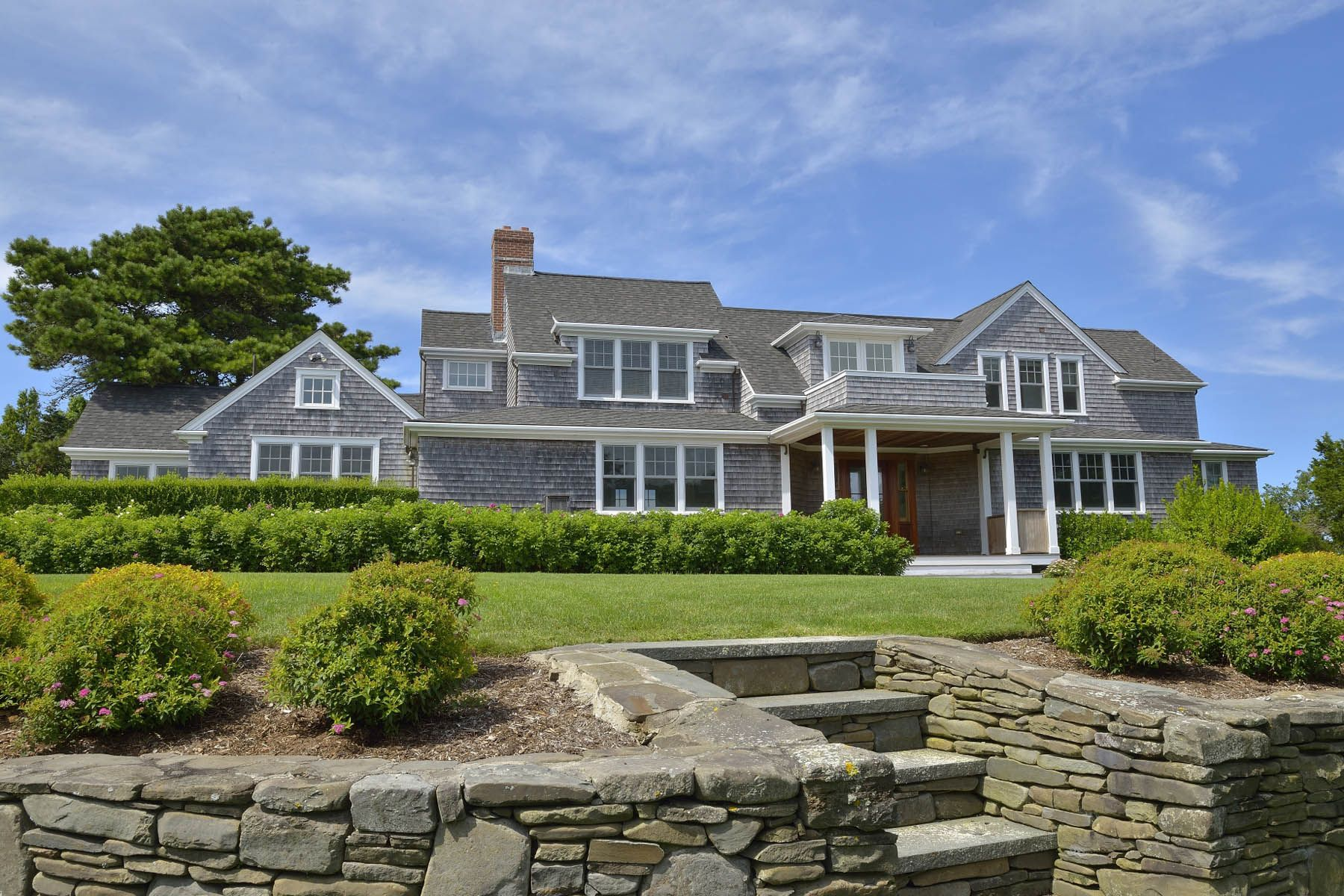 Single Family Home for Sale at Expansive Harbor Views on 3 Plus Acres 133 Polpis Road Nantucket, Massachusetts, 02554 United States