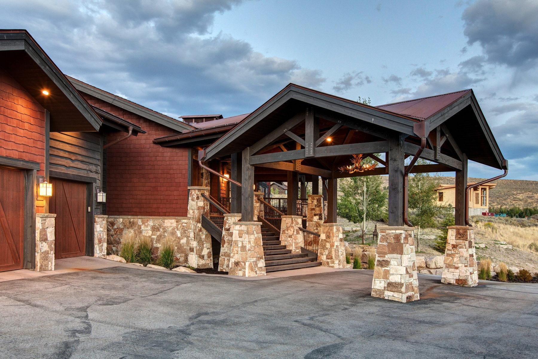 Vivienda unifamiliar por un Venta en Immaculate West View Home in Promontory 2727 E Westview Trl Park City, Utah, 84098 Estados Unidos