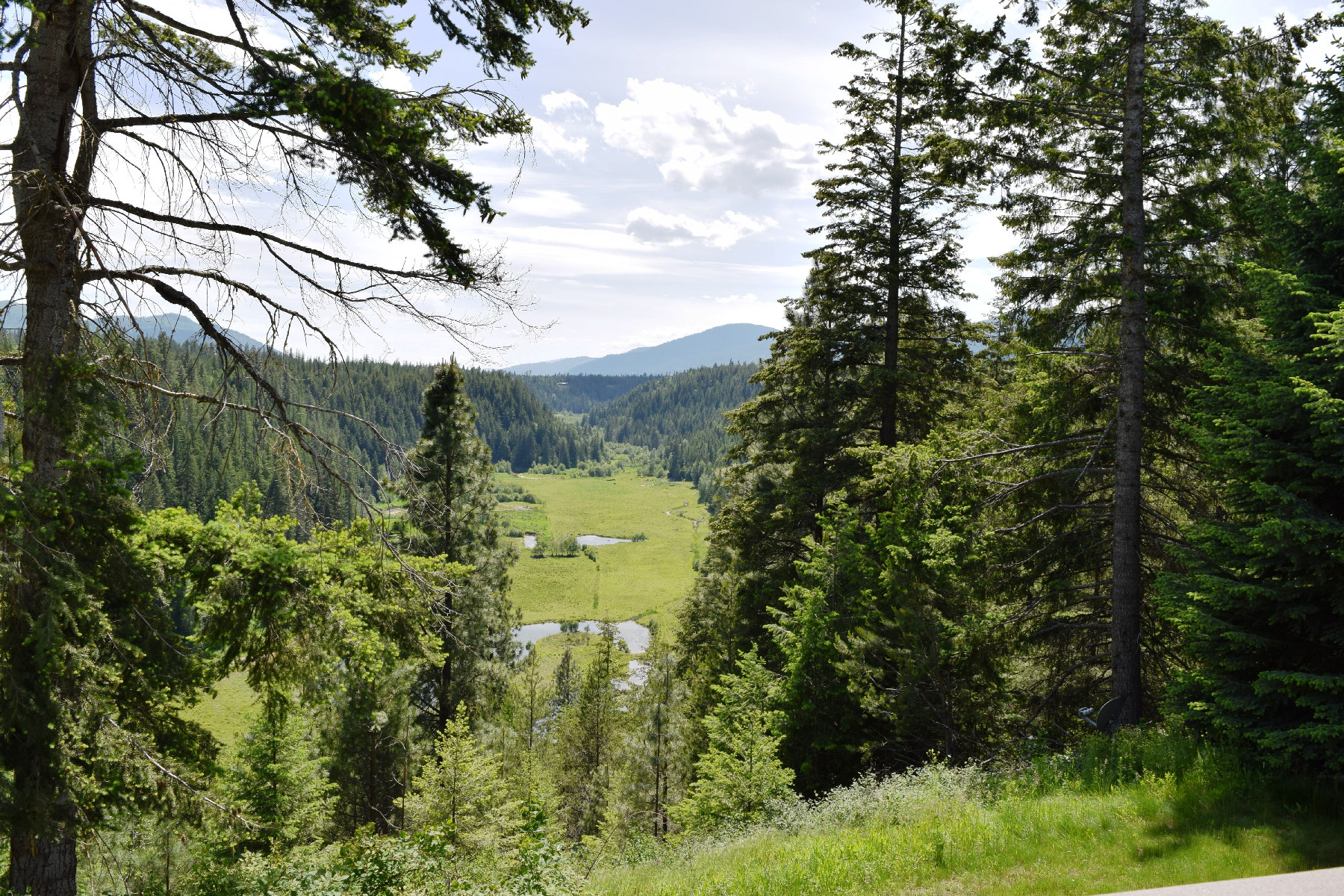 Single Family Home for Sale at Private 362 Acres and two homes 1594 Highland Flats Road Naples, Idaho 83847 United States