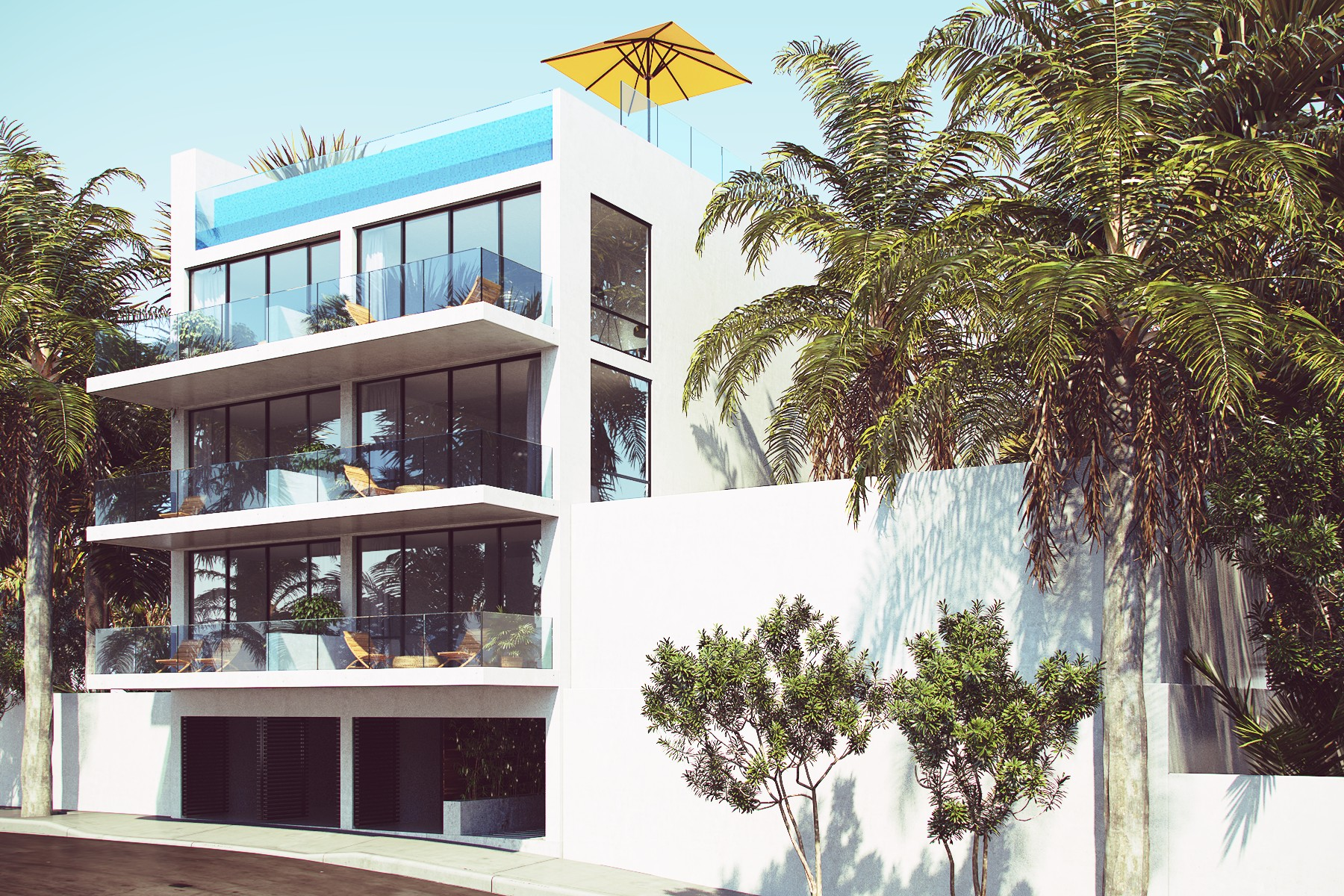 Kat Mülkiyeti için Satış at LIFESTYLE CONDOMINIUM 88 Street, between 5th Ave. and 10th Ave Lot 08 Playa Del Carmen, Quintana Roo, 77710 Meksika