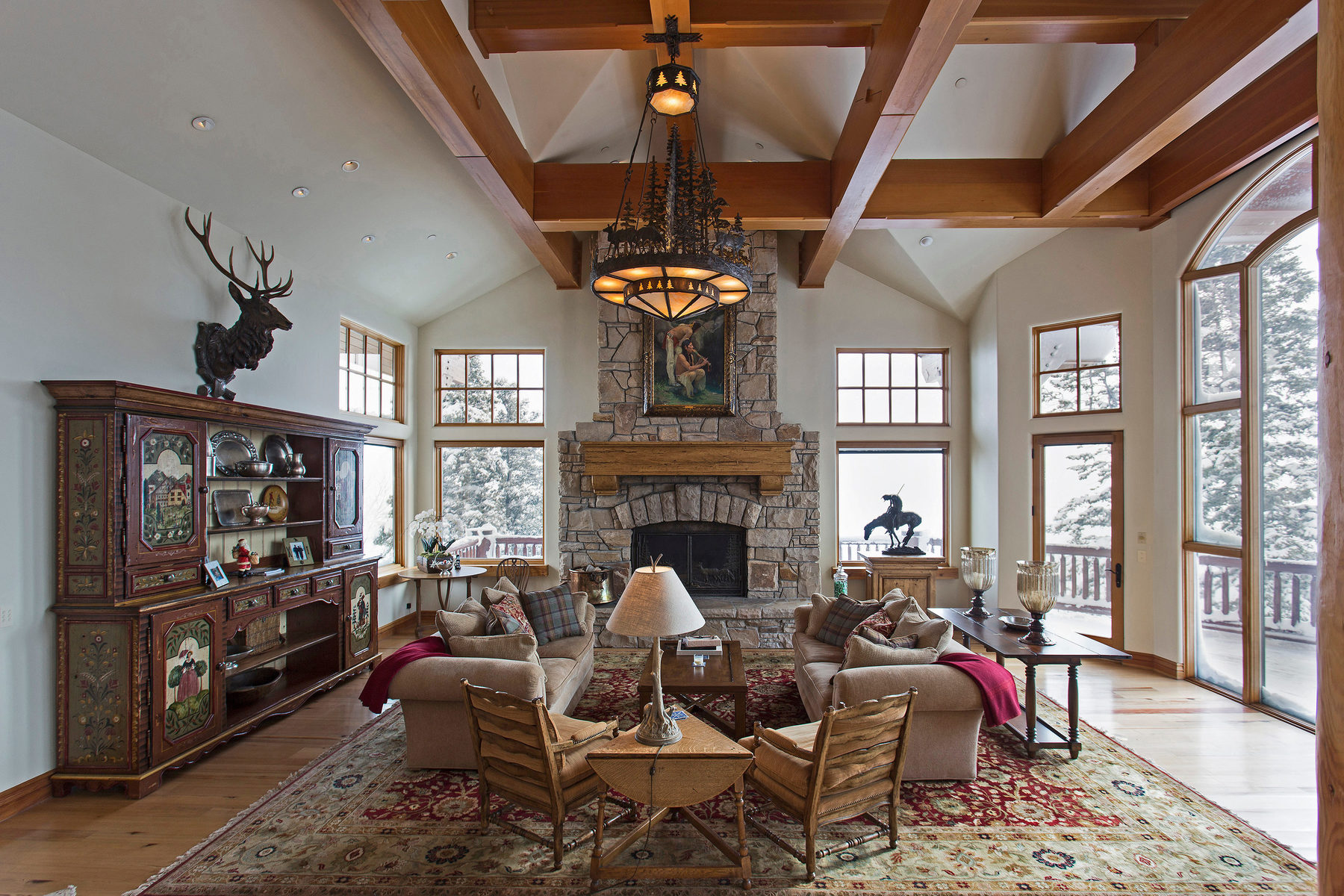 Additional photo for property listing at Privacy, Luxury, Views and Ultimate Ski access in Bald Eagle community 7948 Red Tail Ct Park City, Utah 84060 United States