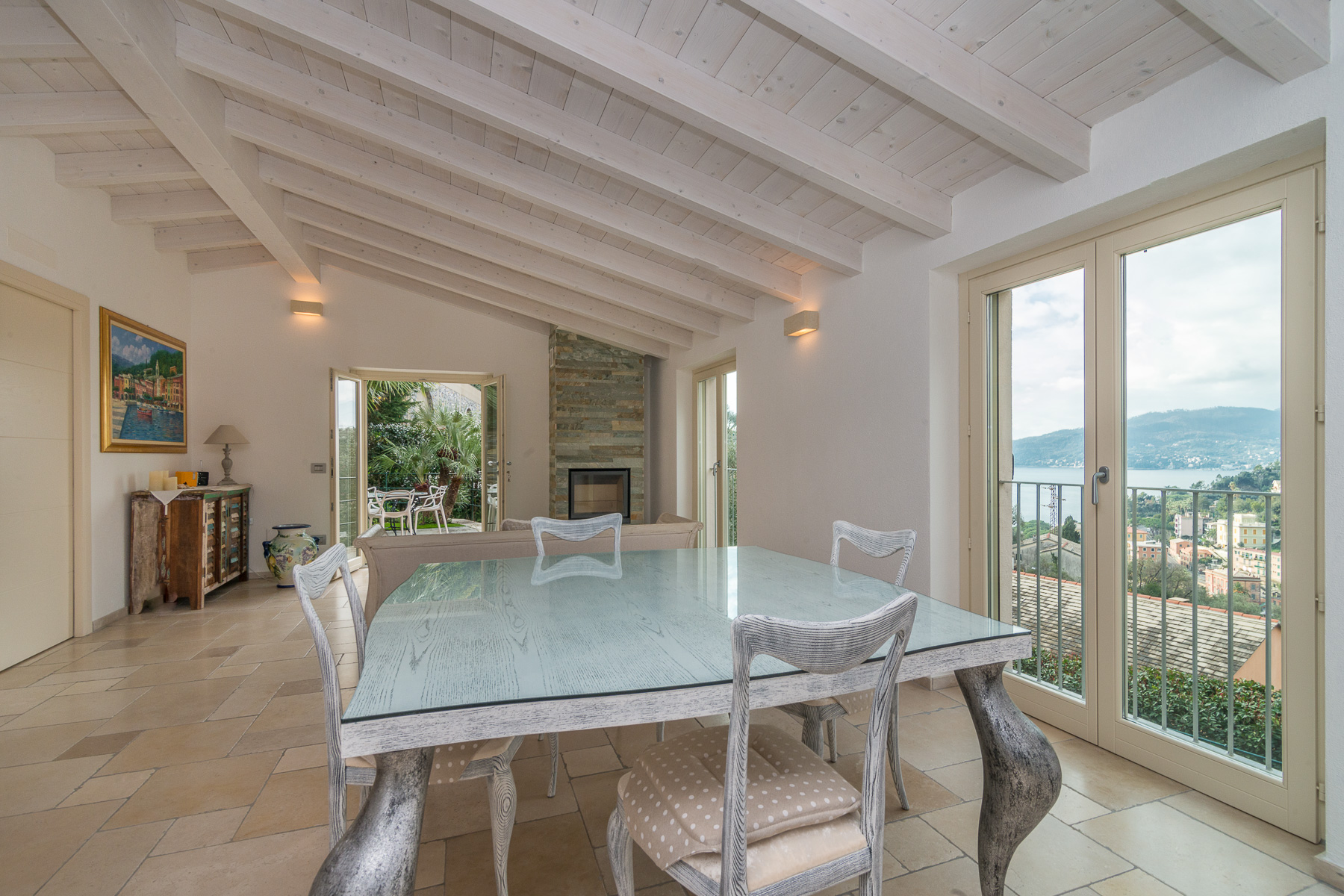 Additional photo for property listing at Charming villa with views on the Italian Riviera Via Solari e Queirolo Zoagli, Genoa 16035 Italien