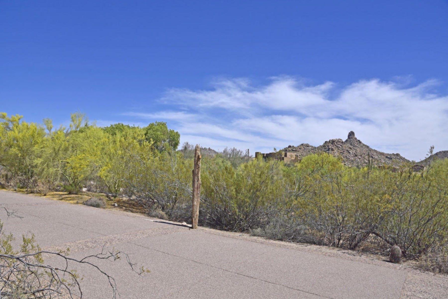 Земля для того Продажа на Fantastic lot in the prestigious guard gated community of Estancia 9804 E Running Deer TRL 1 Scottsdale, Аризона, 85262 Соединенные Штаты