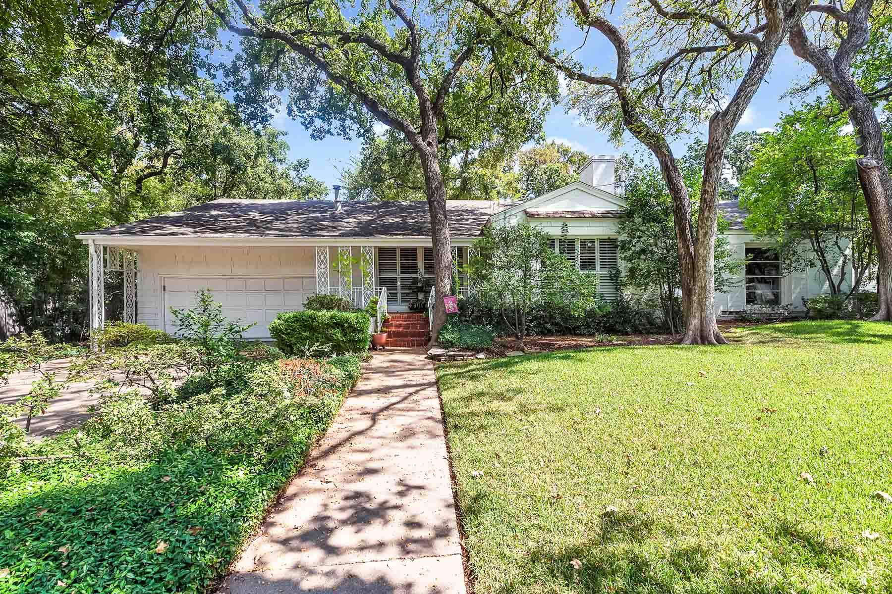 獨棟家庭住宅 為 出售 在 Traditional, Crestwood 508 N Bailey Ave Fort Worth, 德克薩斯州, 76107 美國