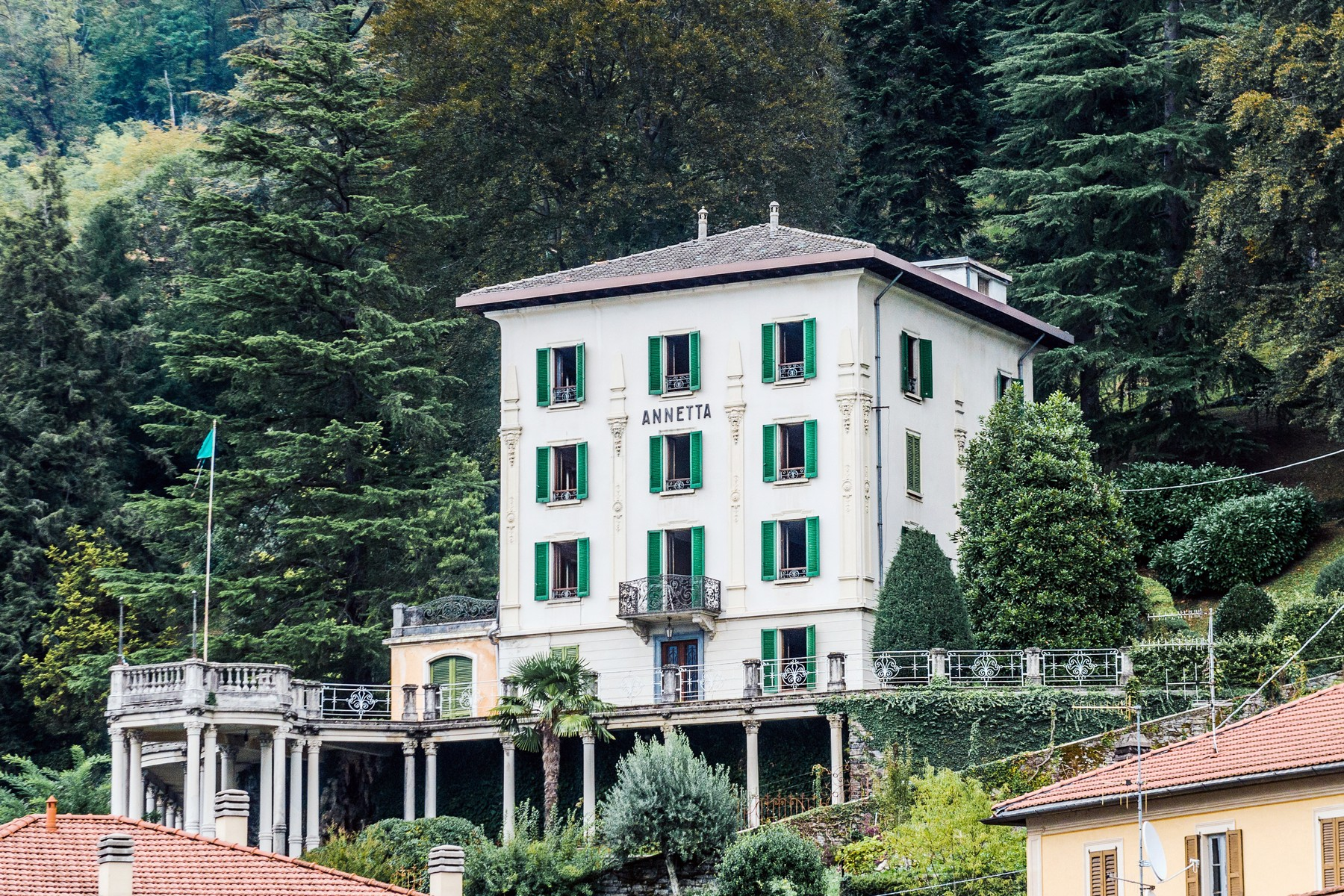 Multi-Family Home for Sale at Distinguished panoramic XIXth century villa Via alle Rive Faggeto Lario, Como 22020 Italy