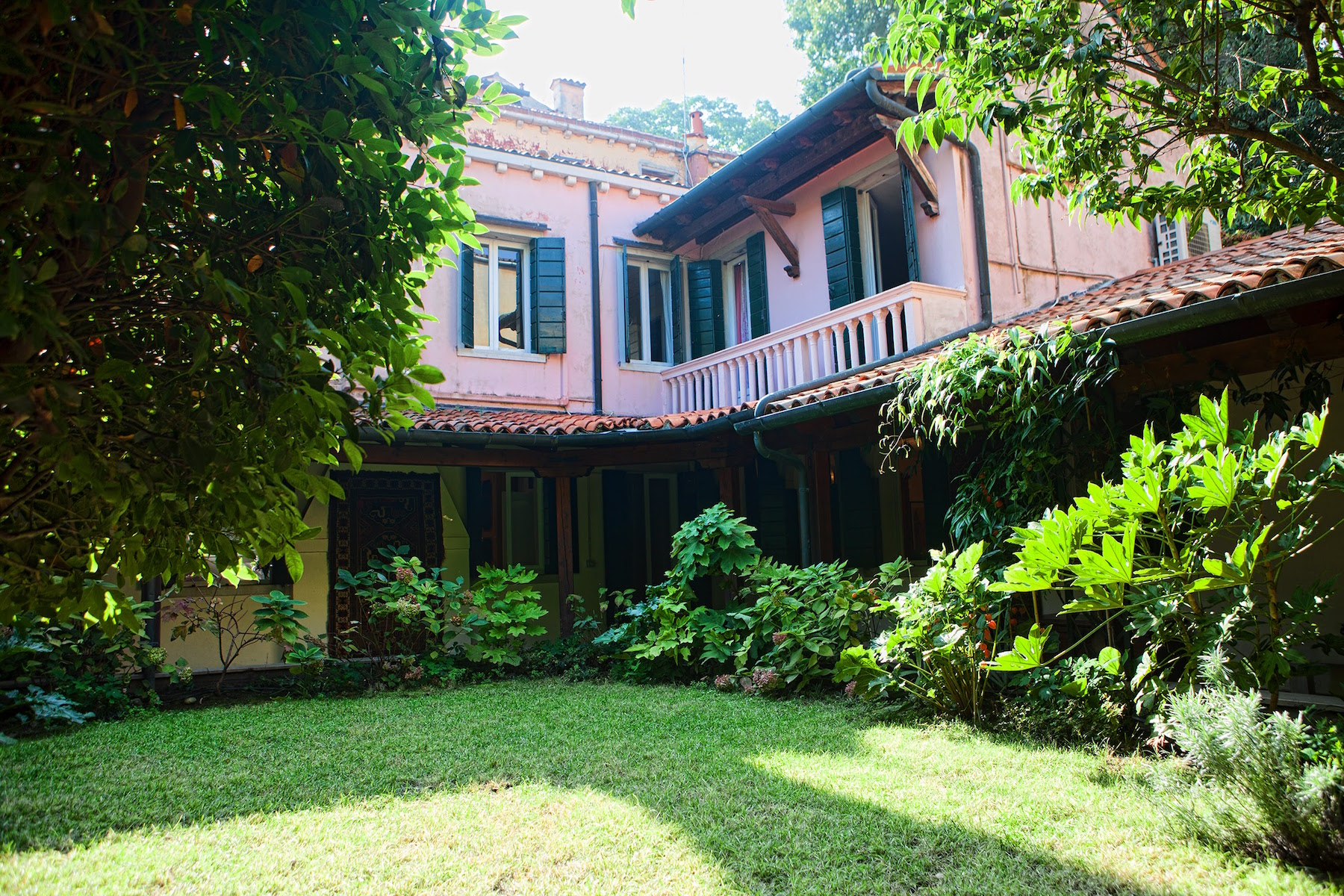 sales property at An Ancient read style house with divine gardens