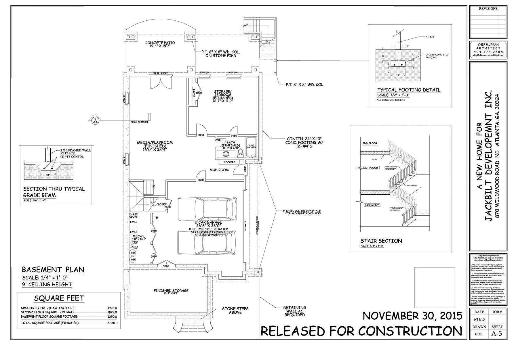 Additional photo for property listing at New Construction by JackBilt Homes. 870 Wildwood Road NE Atlanta, Джорджия 30324 Соединенные Штаты