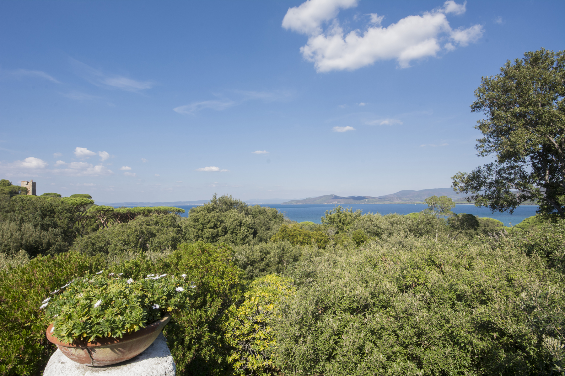 Additional photo for property listing at Charming Villa with breathtaking view of the sea Punta Ala, Grosseto Italy