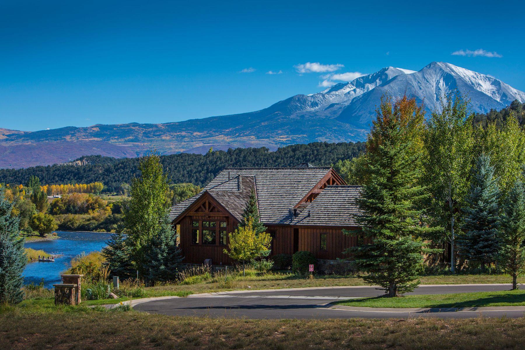 Maison unifamiliale pour l Vente à Expansive River and Mountain Views 42 Wader Carbondale, Colorado, 81623 États-Unis