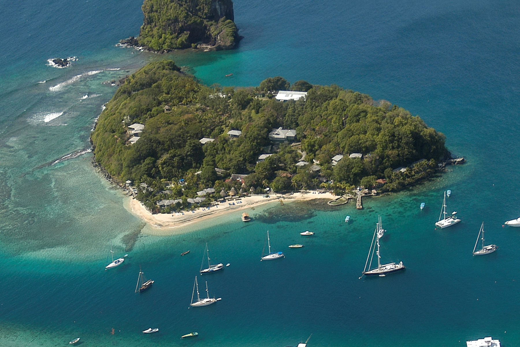 Private Island for Sale at Young Island Resort - Private Island Young Island, Saint Vincent And The Grenadines