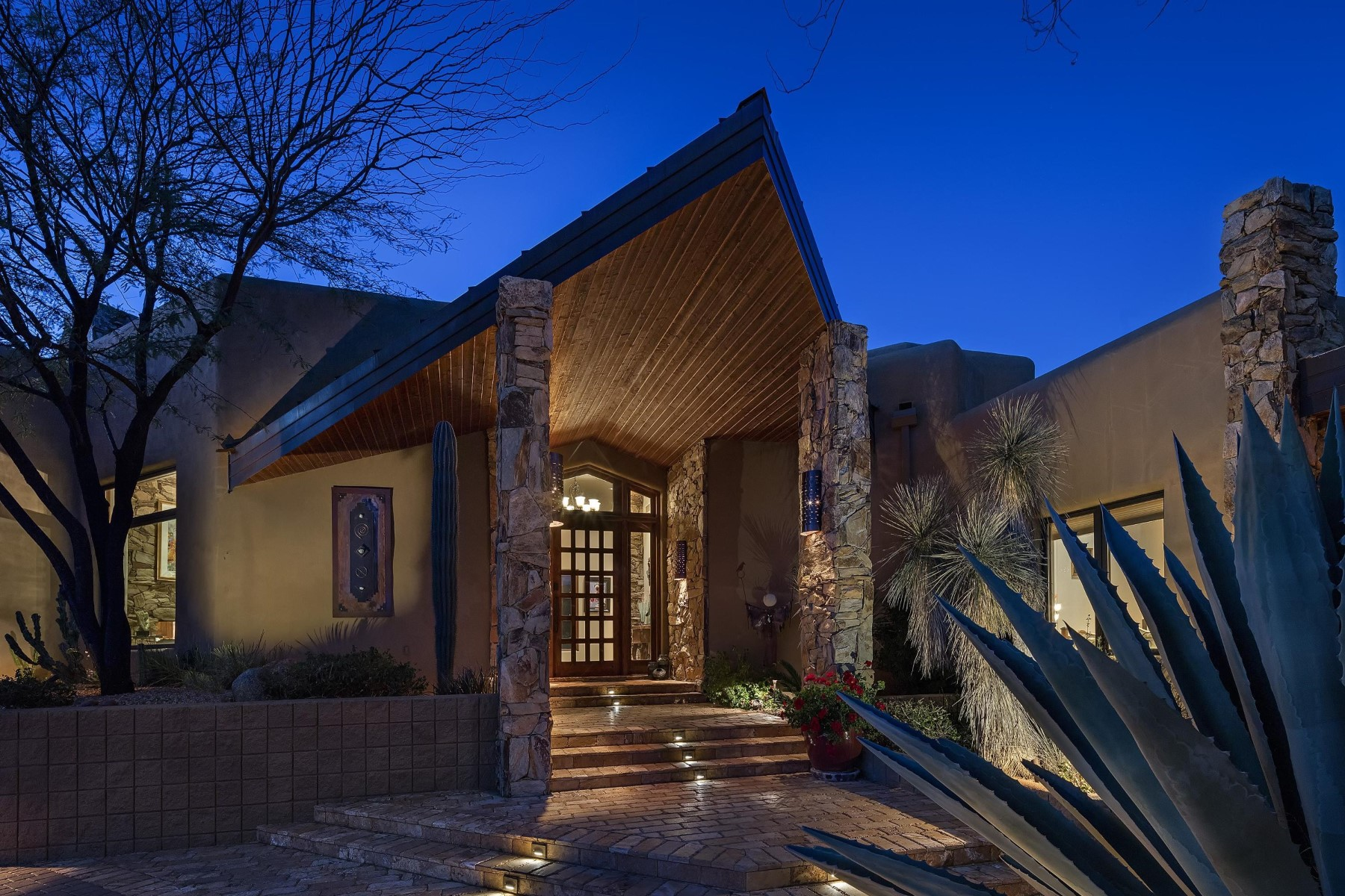 sales property at Stunning Desert Classic Southwest Contemporary home