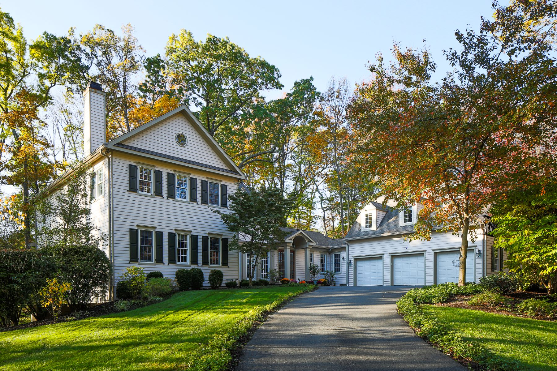 Property for Sale at Classic Styling Meets Gracious, Comfortable Living 170 Lambert Drive, Princeton, New Jersey 08540 United States