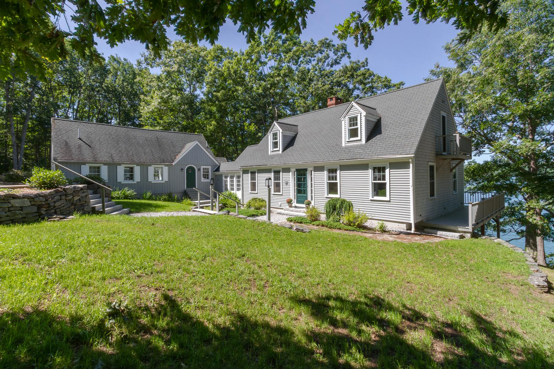 獨棟家庭住宅 為 出售 在 309 State Route 129 South Bristol, 緬因州, 04573 美國