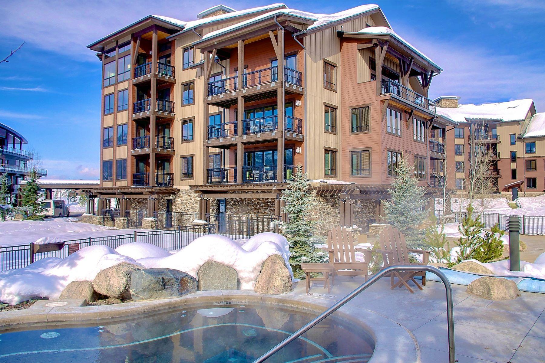 Einfamilienhaus für Verkauf beim Exquisite Luxury Condo 1175 Bangtail Way #2115 Steamboat Springs, Colorado, 80487 Vereinigte Staaten