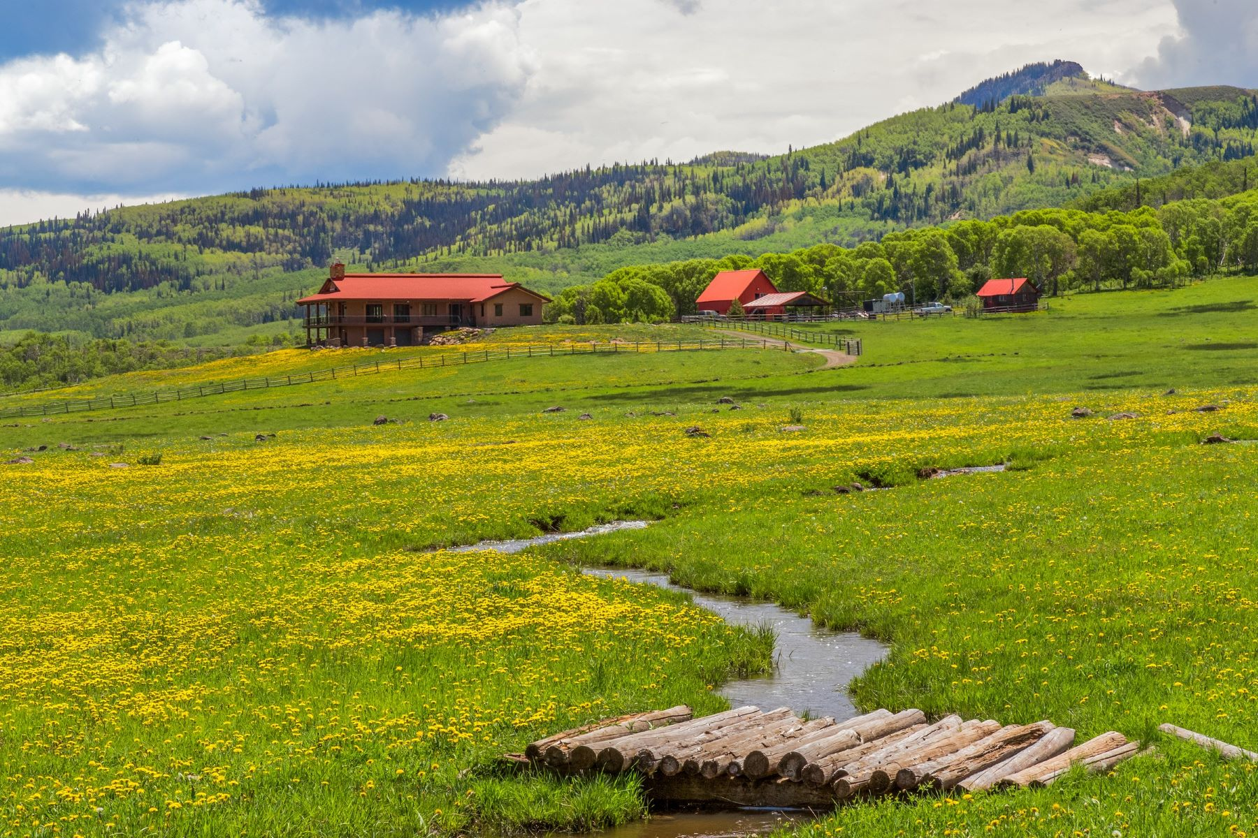 Farm / Ranch / Plantation for Active at Slater Creek Ranch 7195 County Road 82 Slater, Colorado 80653 United States