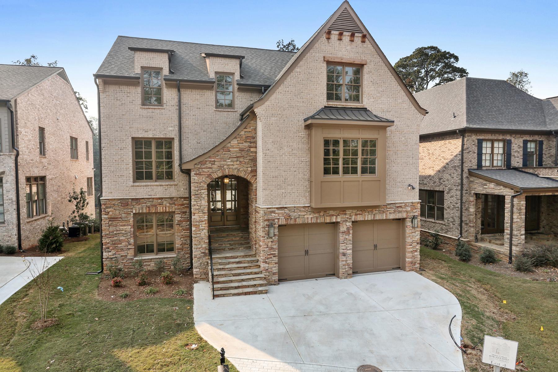 단독 가정 주택 용 매매 에 New Construction Home In Brookhaven 3828 Chamblee Dunwoody Road Atlanta, 조지아, 30341 미국