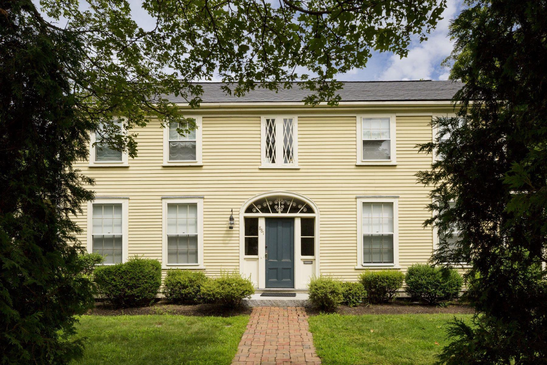 Multi-Family Home for Sale at Stunning Scandinavian Design Home 881 Massachusetts Ave Lexington, Massachusetts, 02420 United States