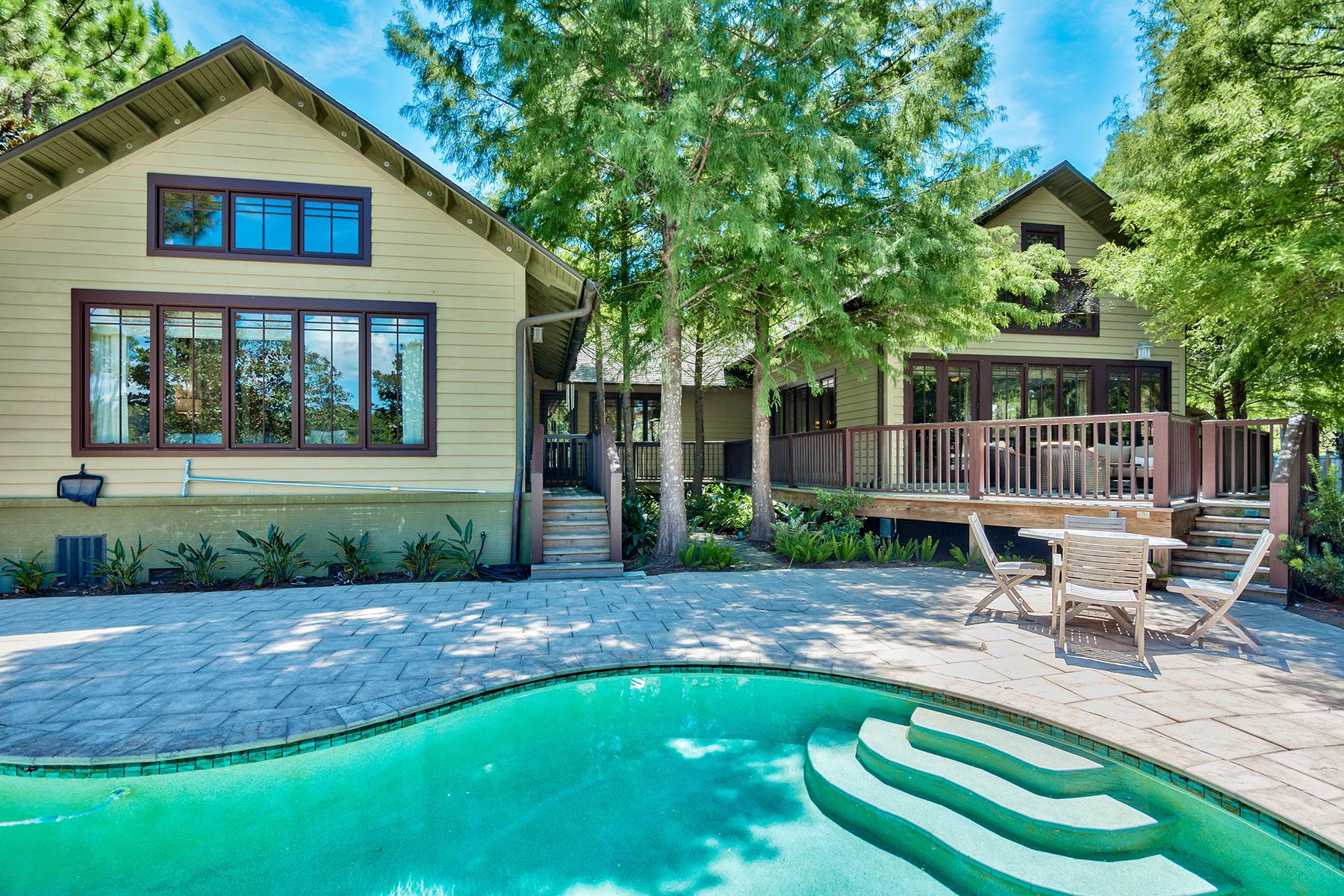 Einfamilienhaus für Verkauf beim CUSTOM BUILT HOME IN THE NATURAL ENVIRONMENT OF WILD HERON 1501 Sweetbay Trail Wild Heron, Panama City Beach, Florida, 32413 Vereinigte Staaten