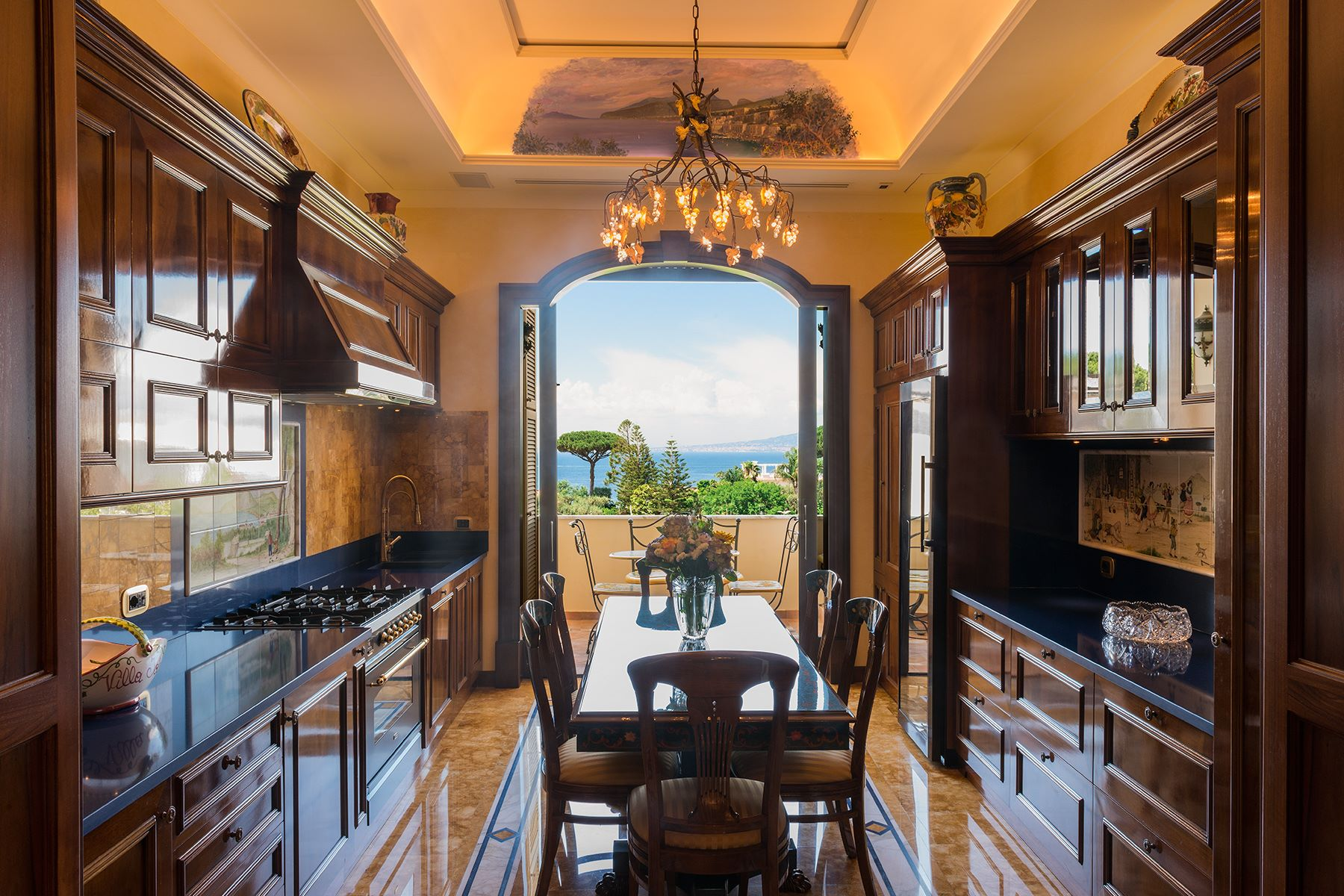 Single Family Home for Sale at Spectacular apartment in the center of Sorrento Sorrento, Italy
