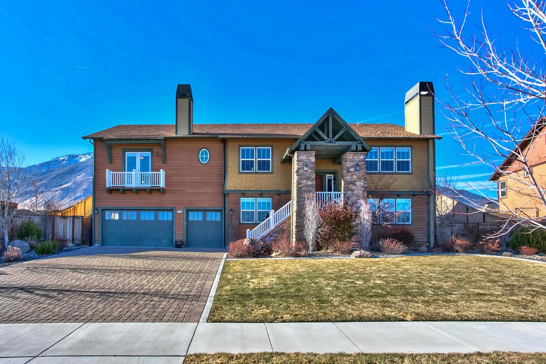 Частный односемейный дом для того Продажа на 2896 Promontory Drive Genoa, Невада, 89411 Lake Tahoe, Соединенные Штаты