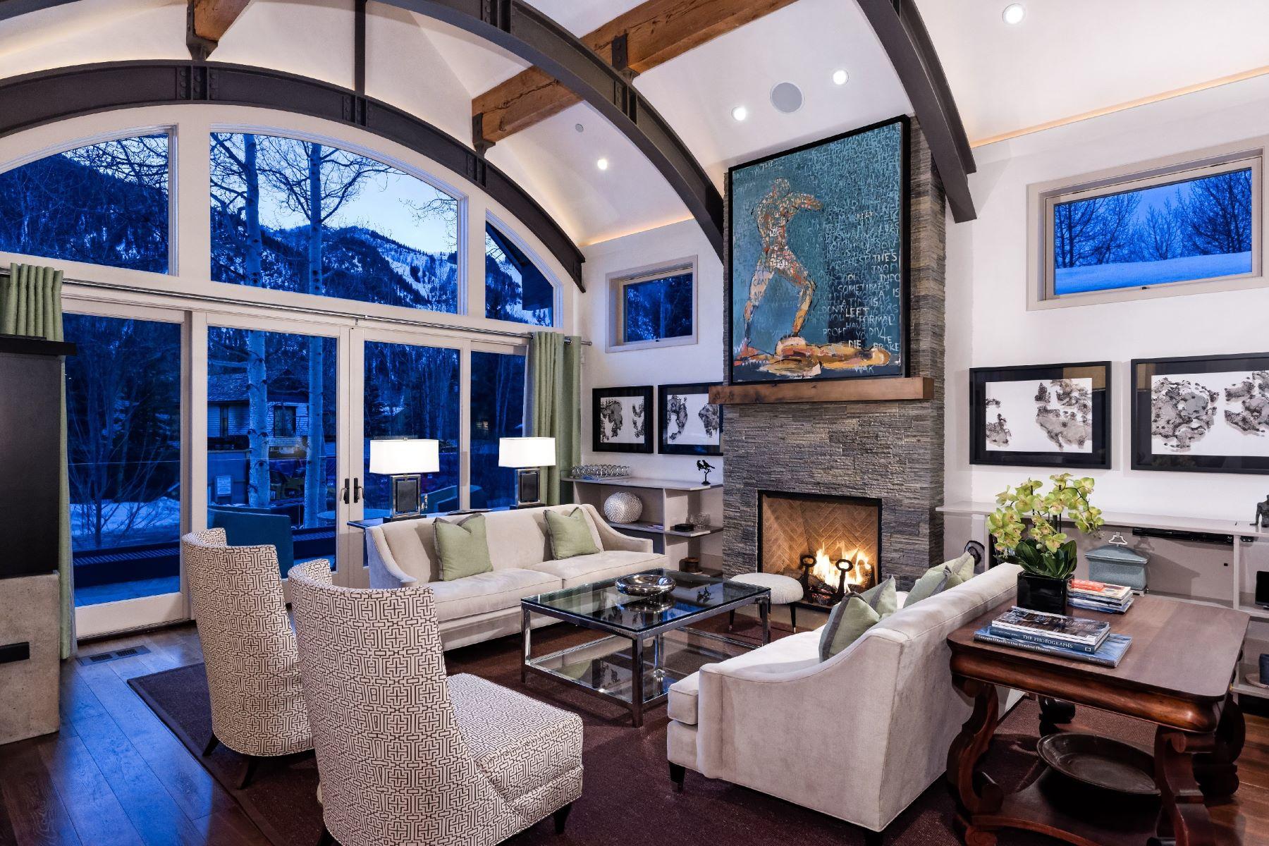 واحد منزل الأسرة للـ Rent في 63 Smuggler Grove Road Aspen, Colorado, 81611 United States