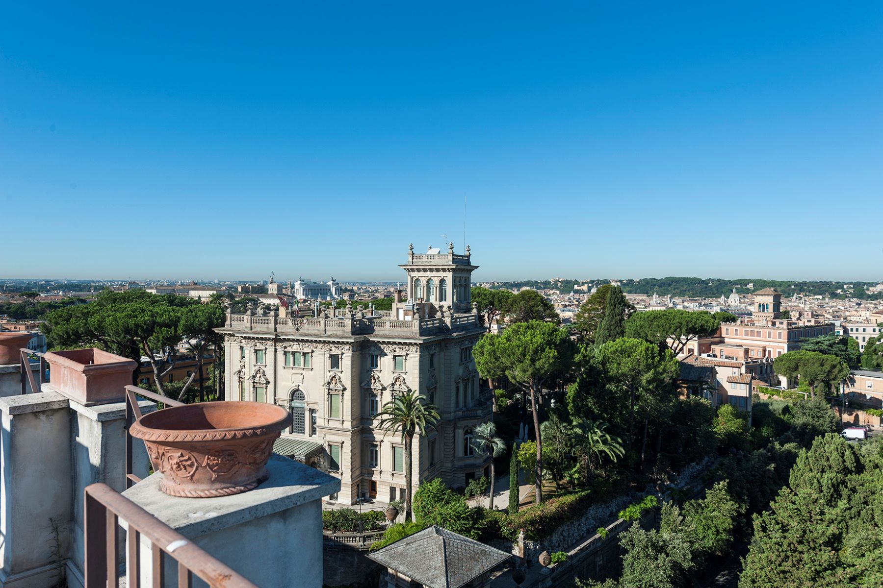 Apartment for Sale at Stunning penthouse with 360 ° view of the eternal city Rome, Rome, Italy