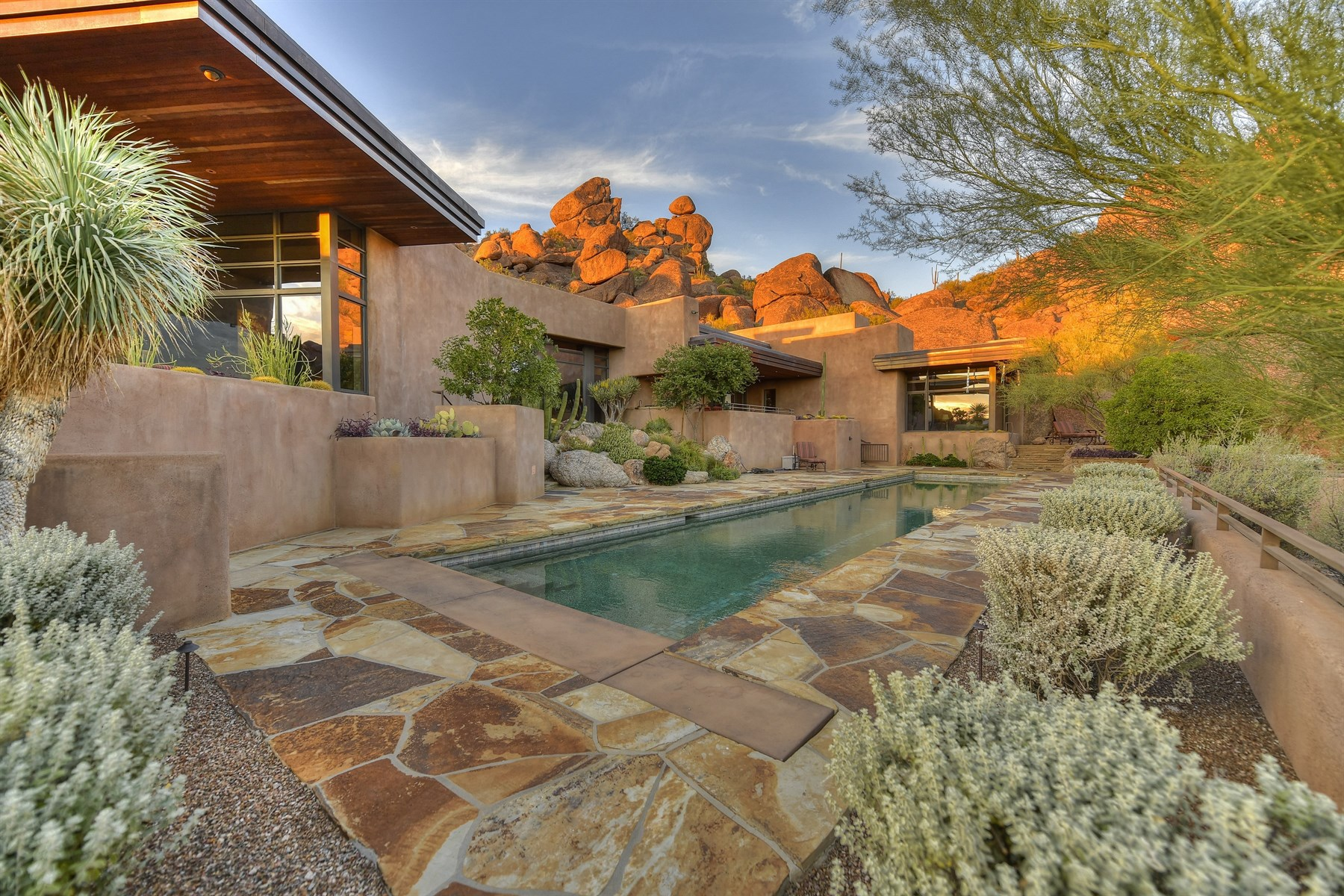 sales property at Magnificent Desert Contemporary in Carefree Grand View Estates
