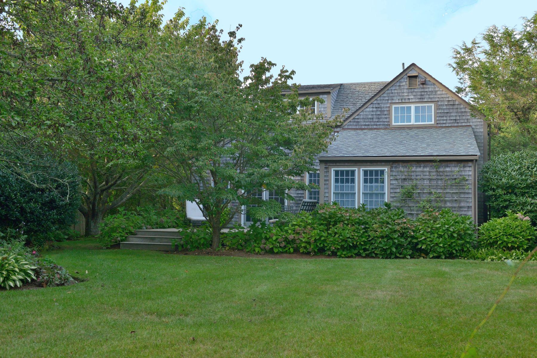 Частный односемейный дом для того Продажа на Sconset - Tucked in and very Private. 4 Burnell Street Siasconset, Массачусетс, 02564 Соединенные Штаты