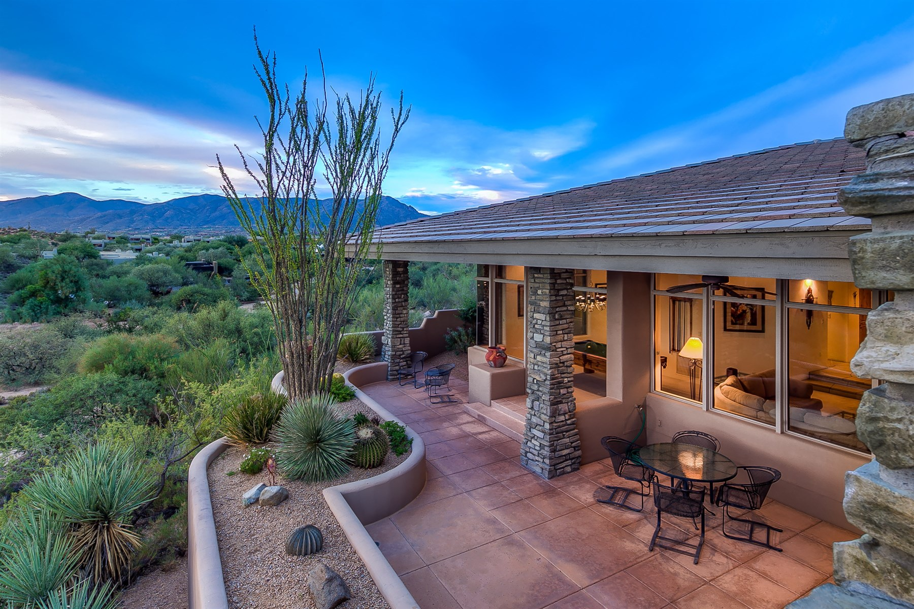 Single Family Home for Sale at One of the best locations and views in Sonoran Ridge 10036 E Old Trail Rd Scottsdale, Arizona, 85262 United States