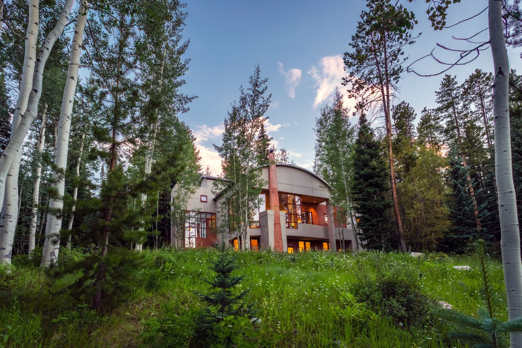 Single Family Home for Sale at Mountain Contemporary Home 84 Pine Lane Snowmass Village, Colorado, 81615 United States