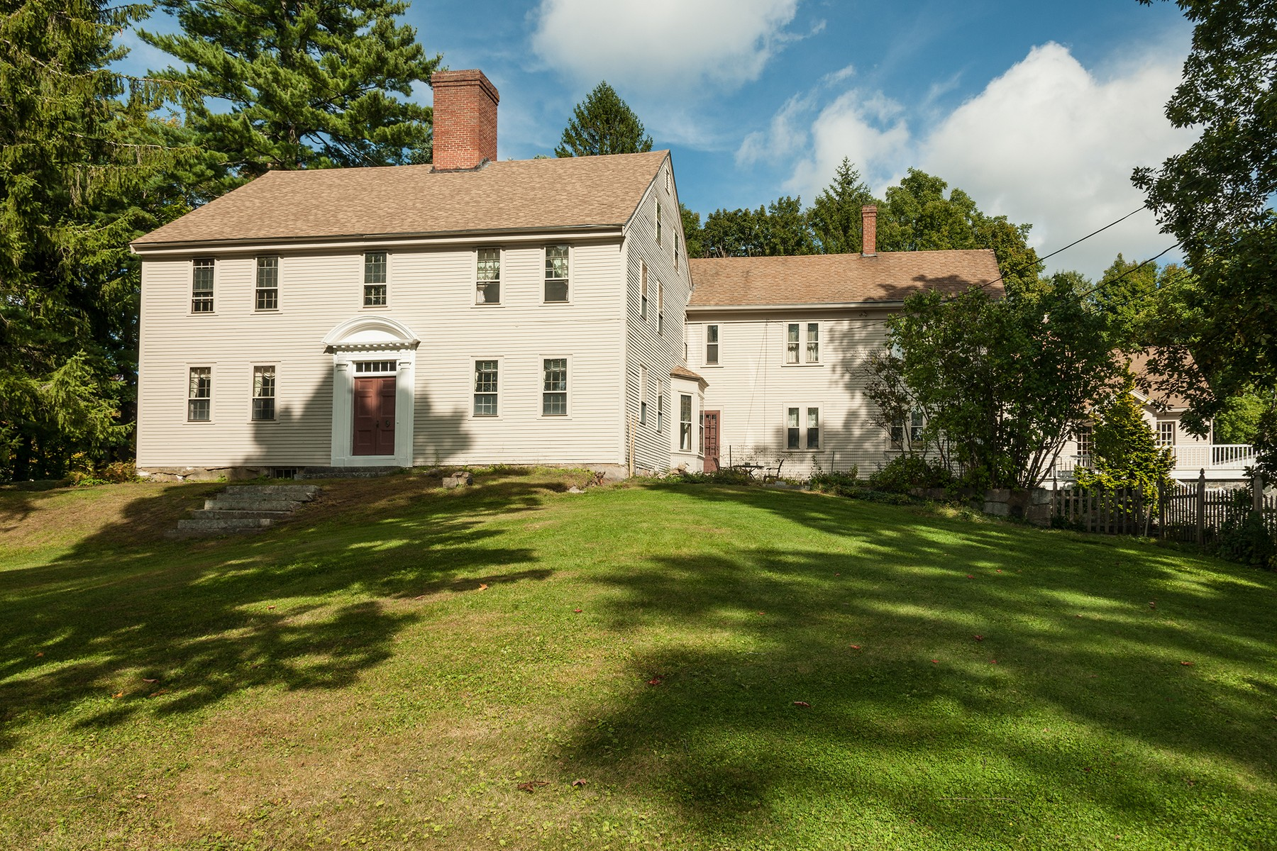 Single Family Home for Sale at General Ichabod Goodwin Estate 1 Oldfields Road South Berwick, Maine, 03908 New England, United States