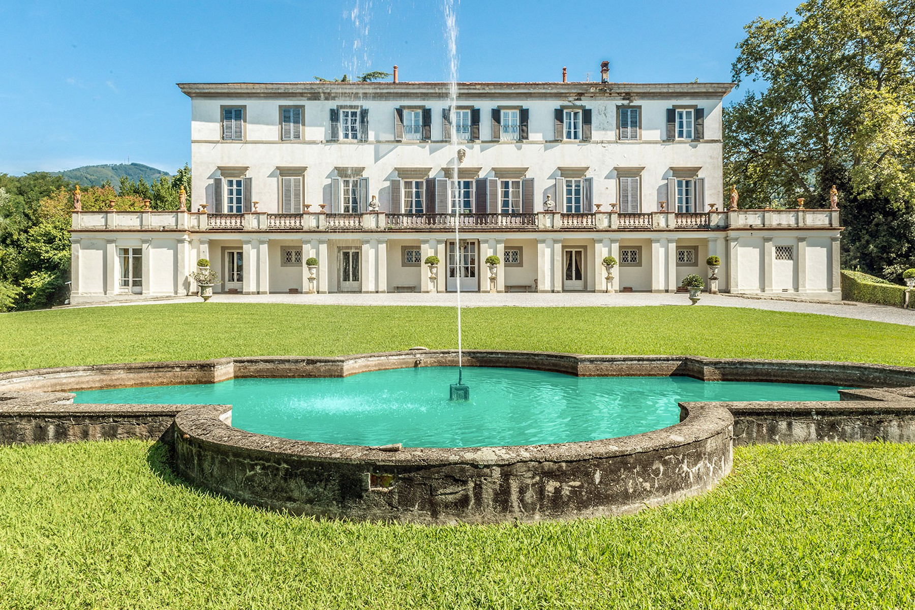 Single Family Home for Sale at Incomparable historic mansion Lucca, Italy