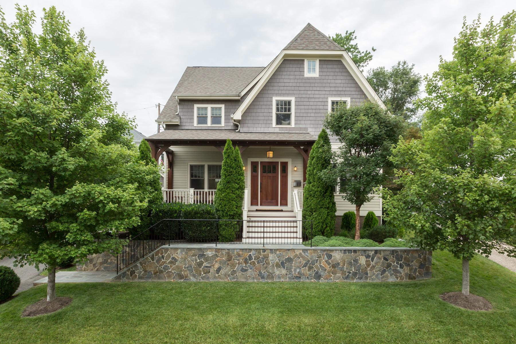 Maison unifamiliale pour l Vente à 4931 33rd Road N, Arlington Arlington, Virginia, 22207 États-Unis