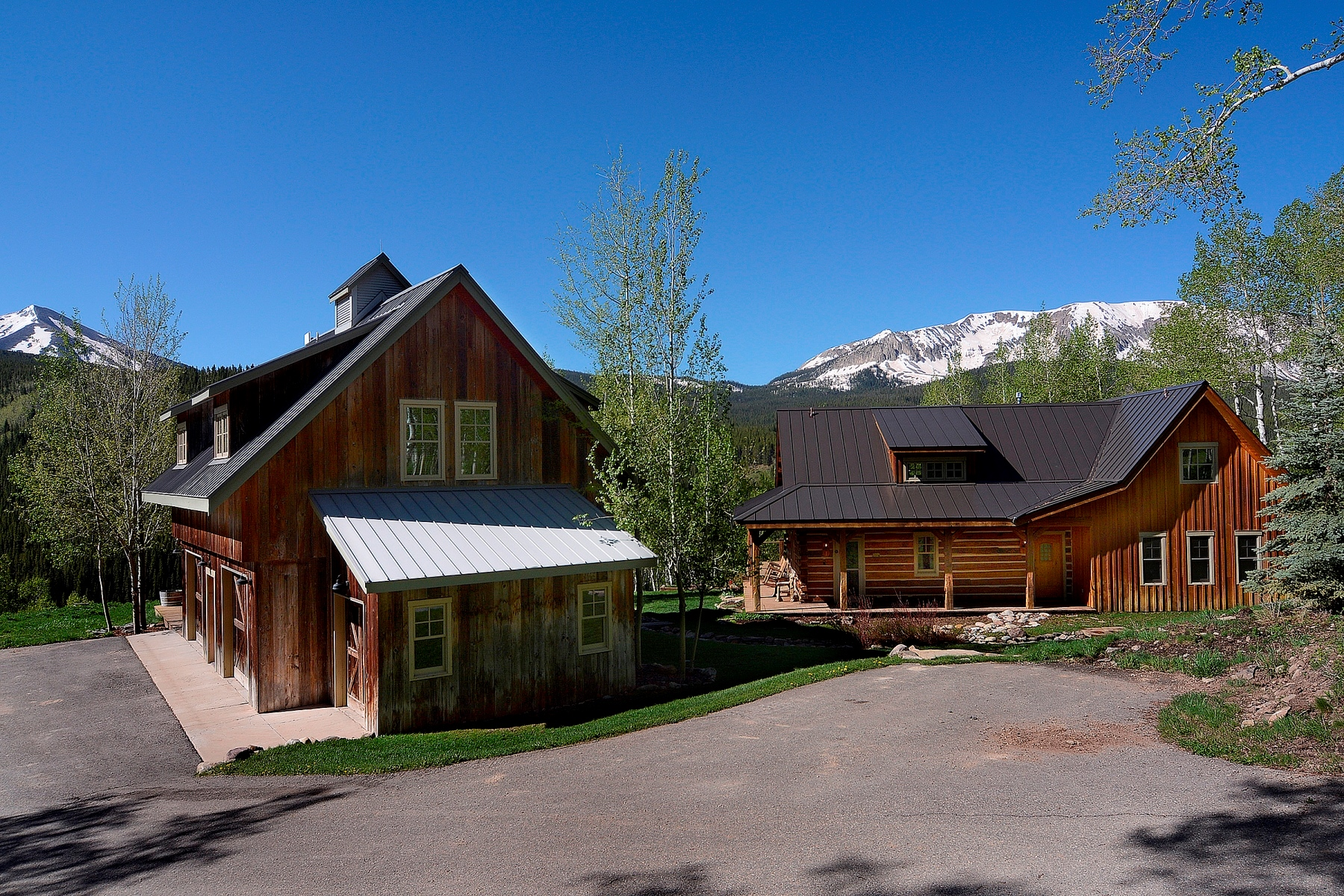 獨棟家庭住宅 為 出售 在 Spectacular Views of Surrounding Mountains 303 Evergreen Drive Crested Butte, 科羅拉多州, 81224 美國