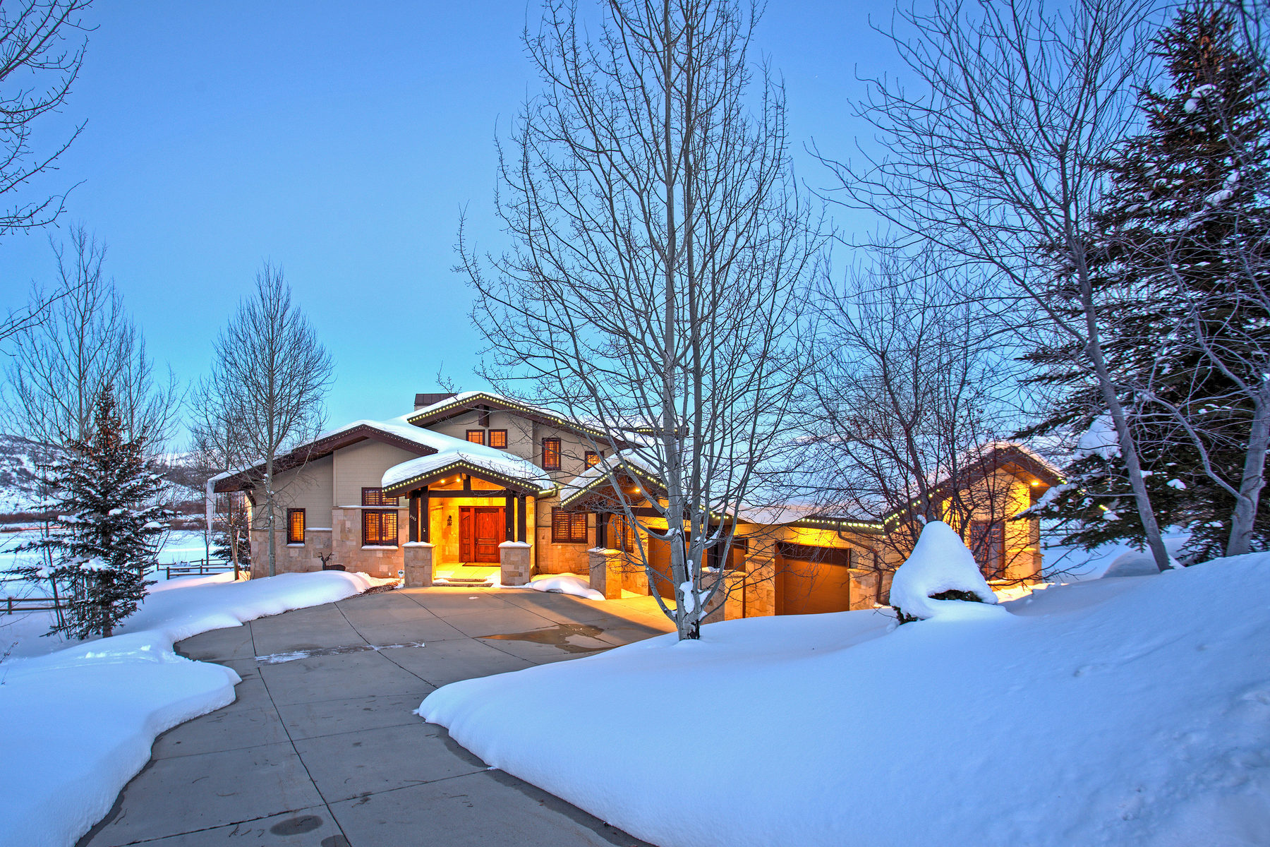 Casa para uma família para Venda às Stunning Entertainer's Residence in the Heart of Park City 2582 Aspen Springs Dr Park City, Utah, 84060 Estados Unidos