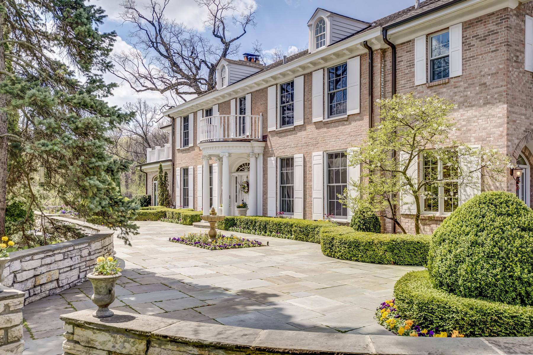 Casa Unifamiliar por un Venta en Woods Walk 237 Oak Knoll Road Barrington Hills, Illinois, 60010 Estados Unidos