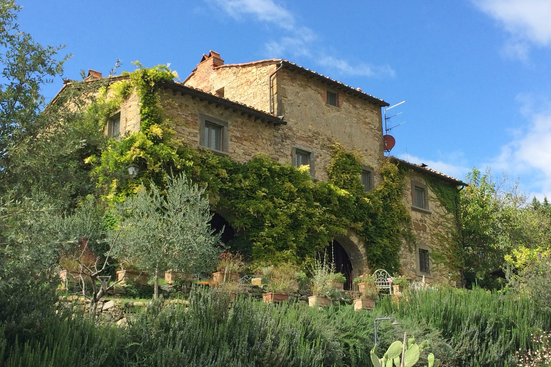 Single Family Home for Sale at A charming Chianti farmhouse with breathtaking views and pool Radda In Chianti, Siena Italy