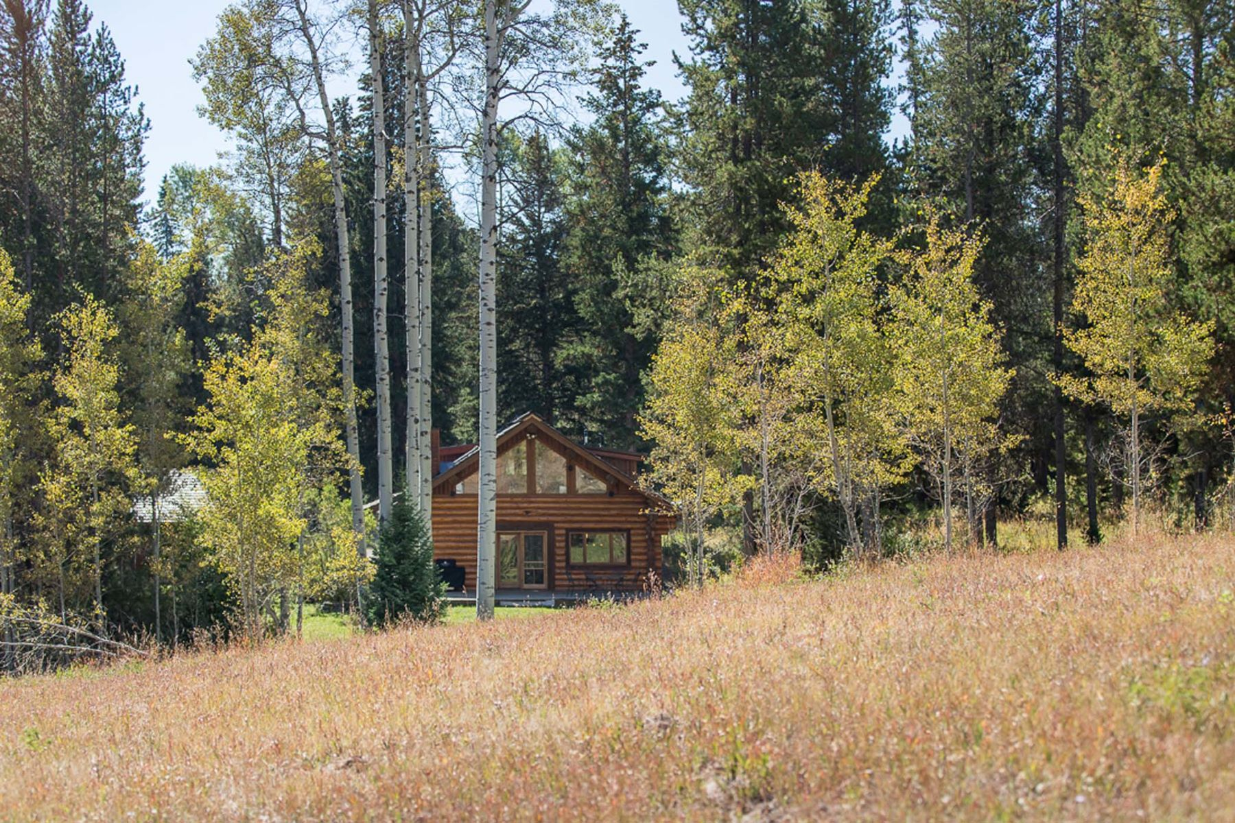 獨棟家庭住宅 為 出售 在 Idyllic Log Home, Minutes from Wilson 1105 Elliott Cemetery Road Wilson, 懷俄明州, 83014 Jackson Hole, 美國