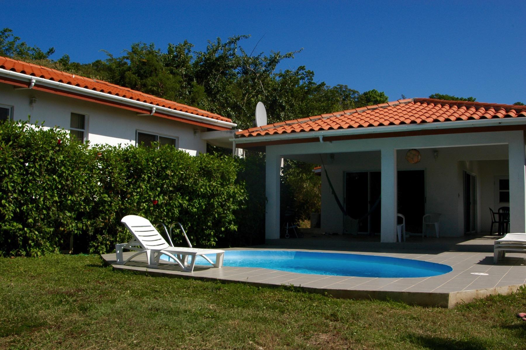 Частный односемейный дом для того Продажа на Villa Hibiscus Lambert Beach, Тортола Британские Виргинские Острова