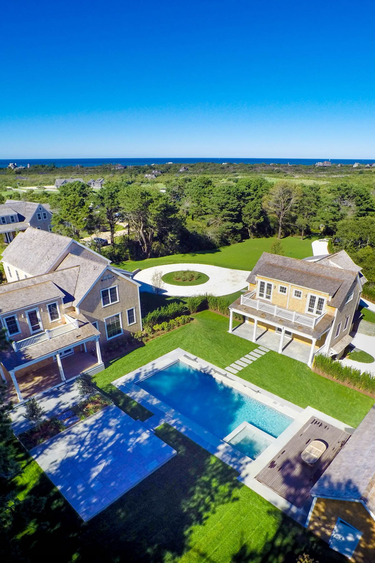 Single Family Home for Sale at New. Stylish. Modern. State of the Art. 7 Primrose Lane Nantucket, Massachusetts, 02554 United States