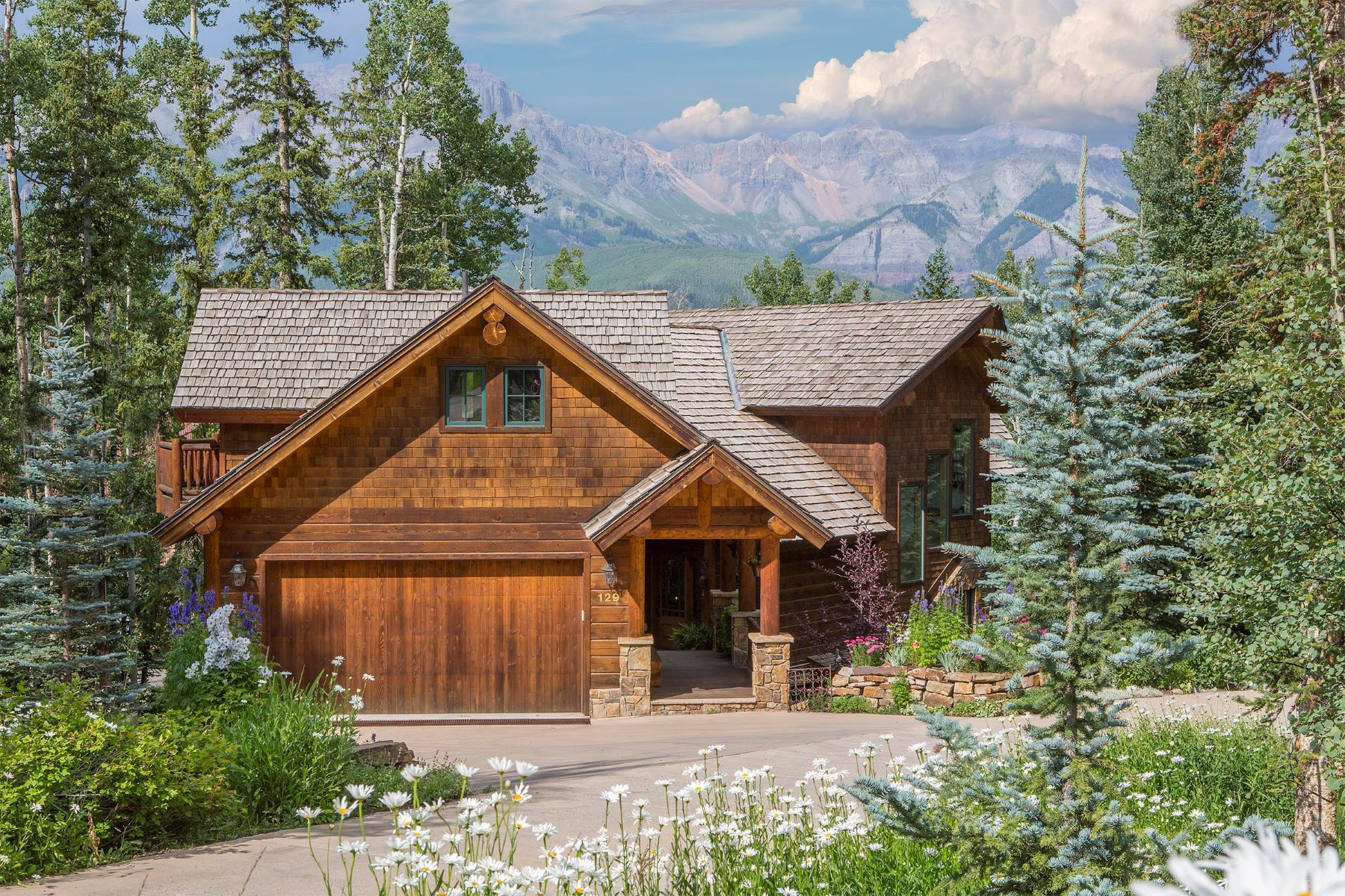 Single Family Home for Sale at Epley Residence 129 Benchmark Drive Mountain Village, Telluride, Colorado, 81435 United States