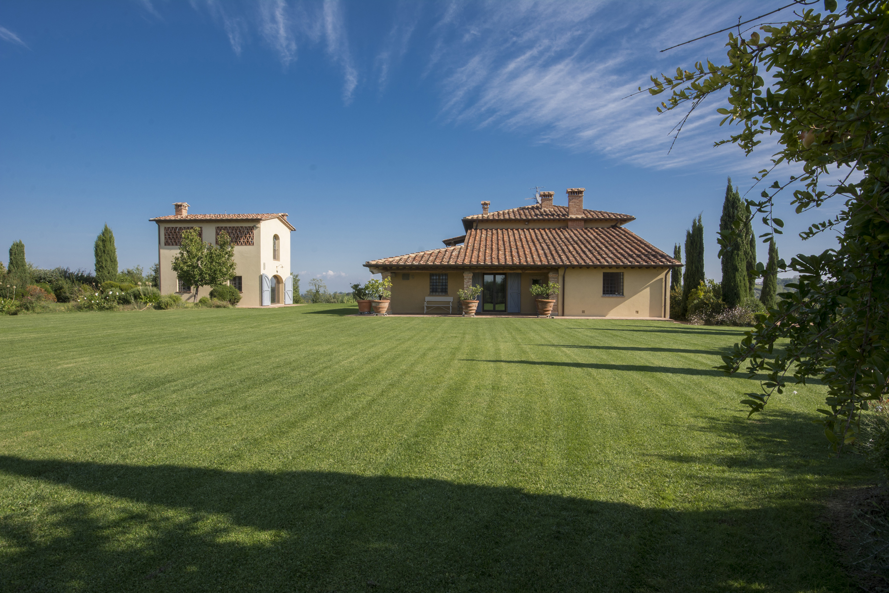 Single Family Home for Sale at Magnificent villa in the Tuscan countryside Via di Valdisonzi Crespina, Pisa 56040 Italy