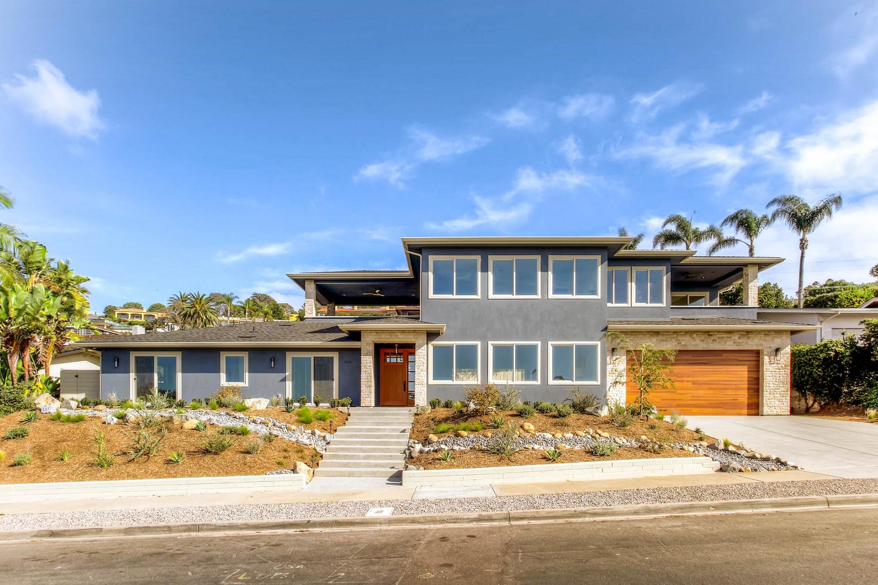 Maison unifamiliale pour l Vente à 6645 Avenida De Las Pescas La Jolla, Californie, 92037 États-Unis