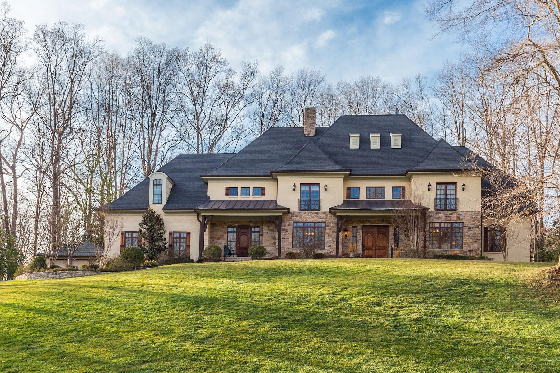 Частный односемейный дом для того Продажа на 7629 Burford Drive, Mclean McLean, Виргиния, 22102 Соединенные Штаты