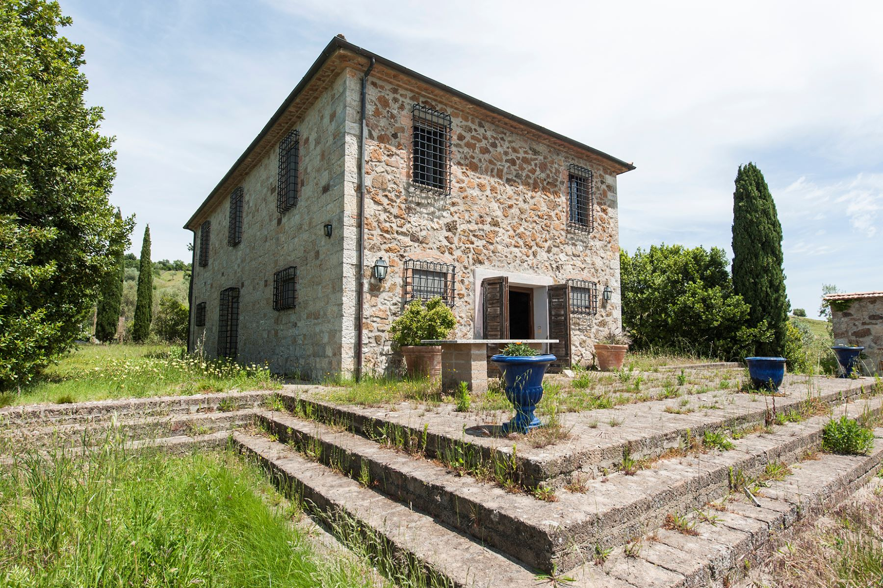 Single Family Home for Sale at Typical farmhouse in the Tuscan Maremma Roccalbegna, Italy