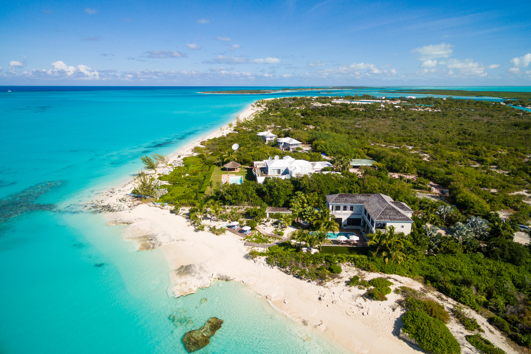 Single Family Home for Sale at Saving Grace - Luxurious Beachfront Villa Grace Bay, Providenciales TCI BWI Turks And Caicos Islands