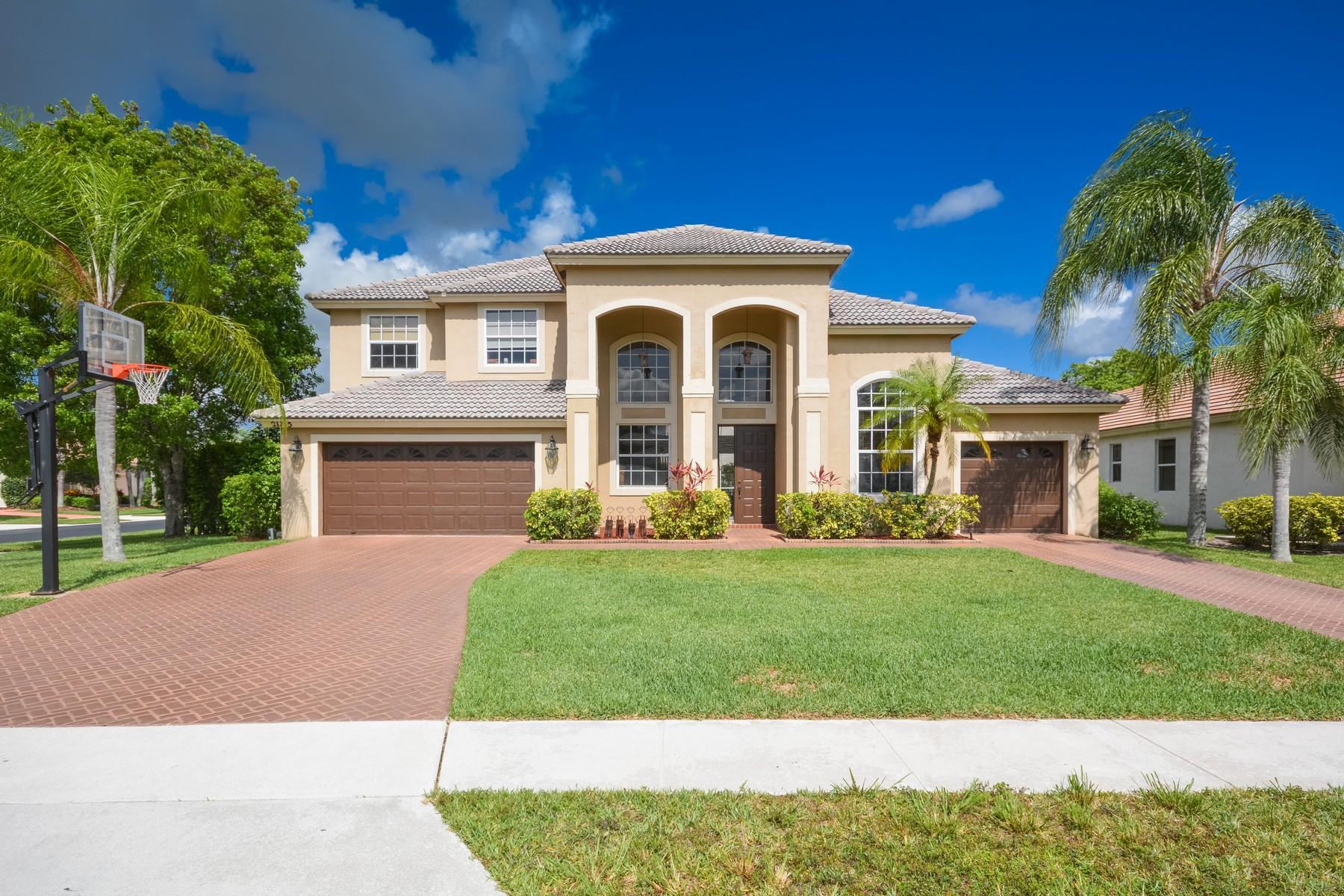 Maison unifamiliale pour l Vente à 21715 Abington Ct , Boca Raton, FL 33428 21715 Abington Ct Boca Raton, Florida, 33428 États-Unis