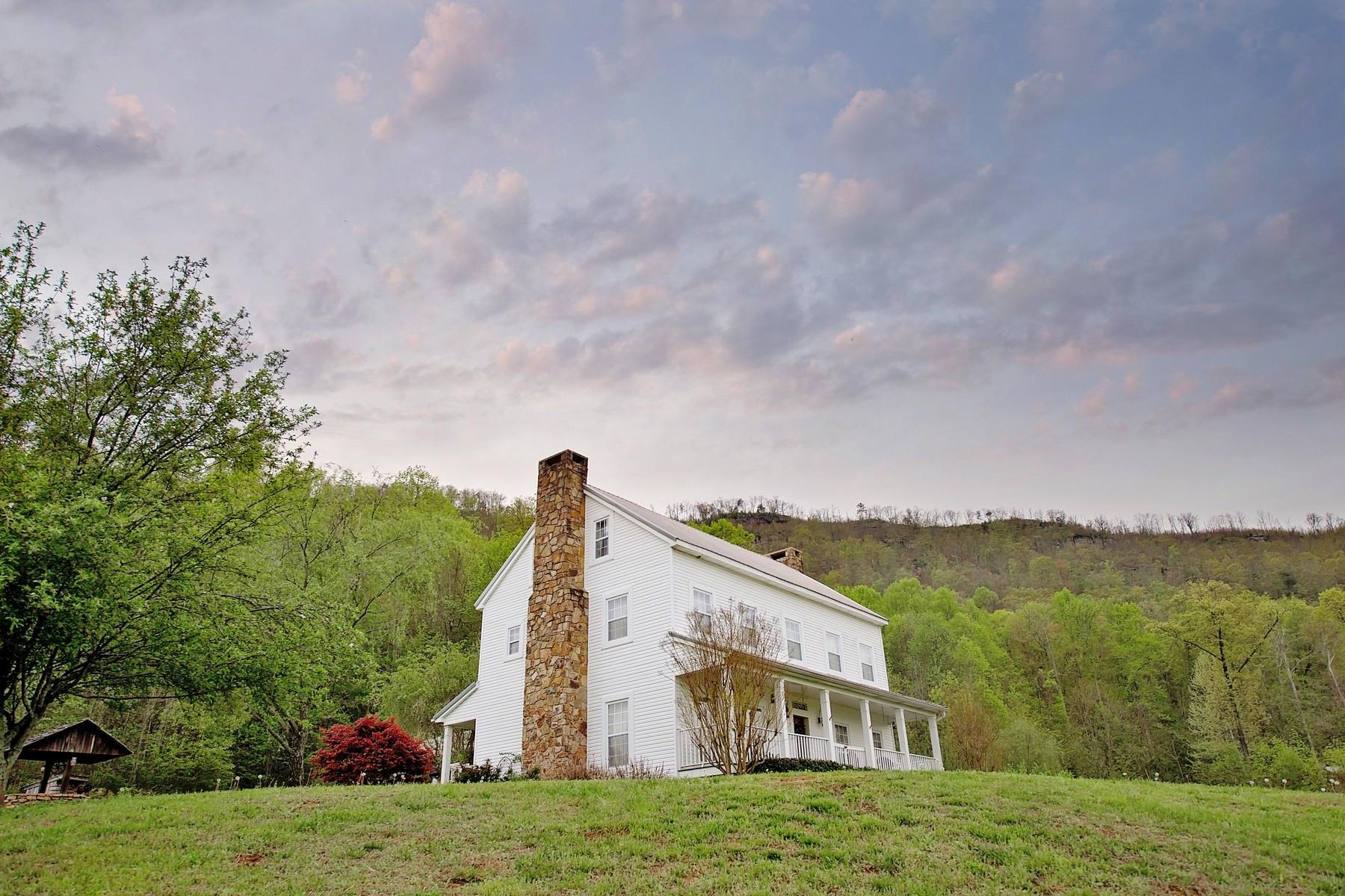 Maison unifamiliale pour l Vente à Buttonwillow Plantation 1155 Incline Road Whitwell, Tennessee 37397 États-Unis