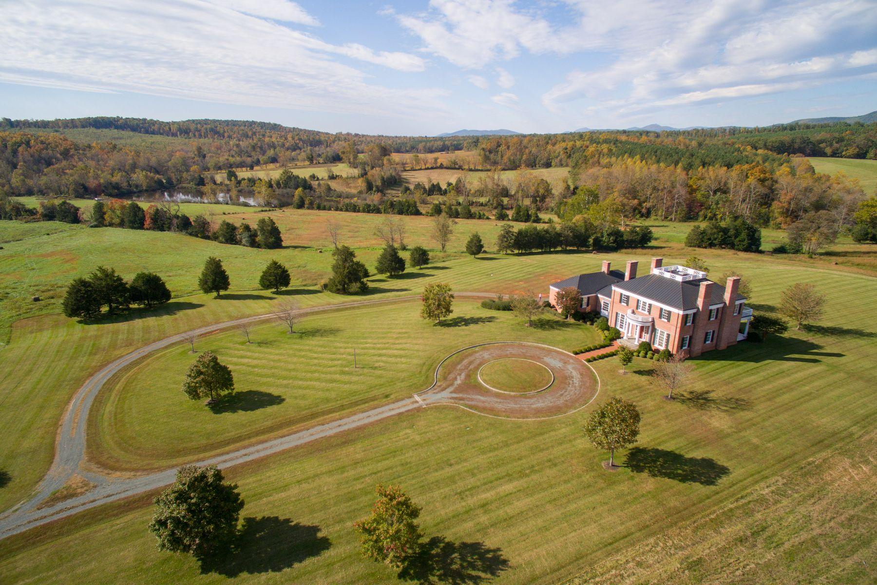 一戸建て のために 売買 アット Apsara Farm 3490 Apsara Farm Lane Esmont, バージニア 22937 アメリカ合衆国で/アラウンド: Charlottesville