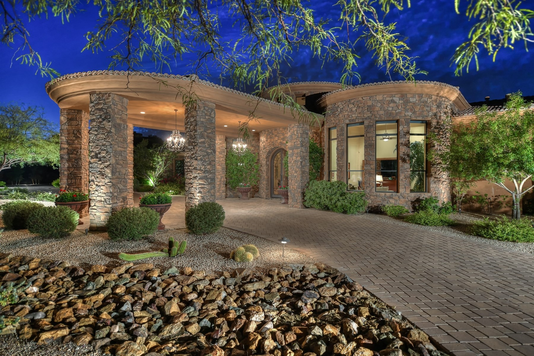 Single Family Home for Sale at Exclusive Pinnacle Vista gated enclave 11386 E Hedgehog Pl Scottsdale, Arizona, 85262 United States